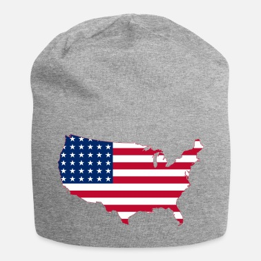 Stati Uniti Stati Uniti Stati Uniti d'America - Beanie in jersey