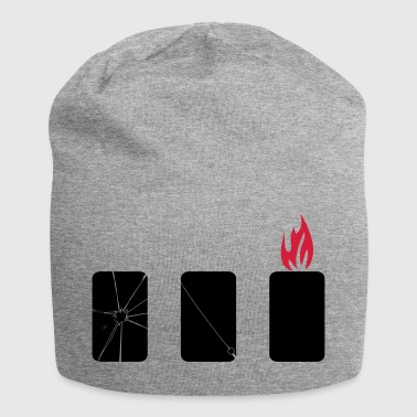 mobile phone harm - Jersey Beanie