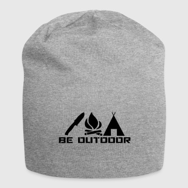 Be outdoor - Jersey Beanie