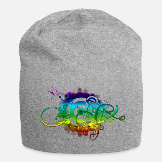Music Caps & Hats - Abstract Music S Download Wallpaper - Beanie heather grey