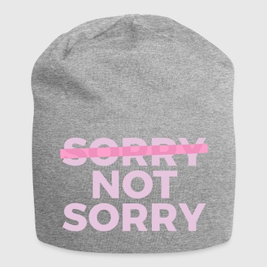 Sorry Not Sorry - Jersey Beanie