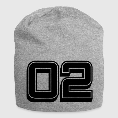 jersey number 02 - Jersey Beanie