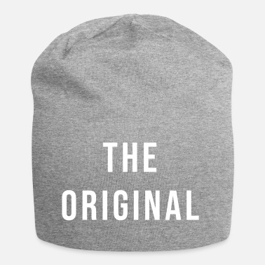 The original white father son gift idea - Jersey Beanie