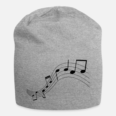 Music Note Music notes, music, notes - Jersey Beanie