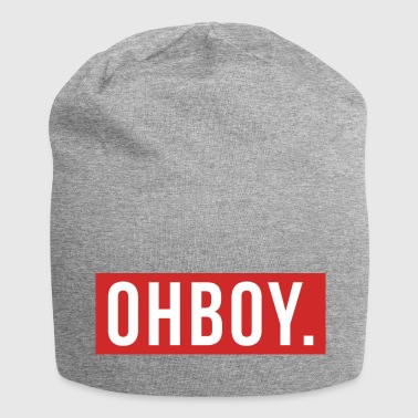 Boy Graphic Oh Boy - Bonnet en jersey