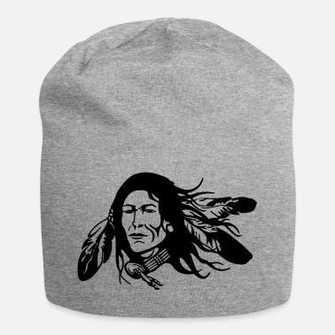 Indianere Indianere med fjer - Jersey-Beanie