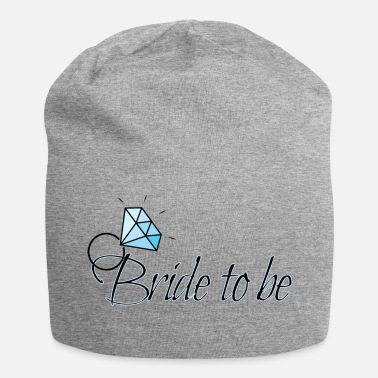 Celibenubile Bride to be with diamond ring - Beanie in jersey
