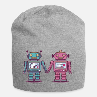 Collections Loving Robots - Beanie in jersey