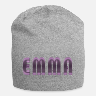Birth Name Emma name first name name day birth gift idea - Jersey Beanie