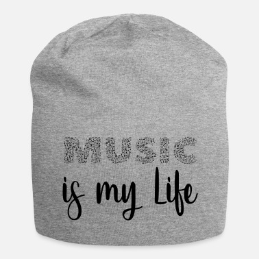music is my life - Konzert und Festival Shirt - Beanie