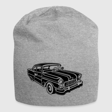 Chevy Cadilac / Muscle Car 02_black - Jersey Beanie