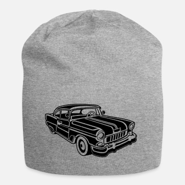 Chevy Chevy Cadilac / Muscle Car 02_black - Jersey Beanie
