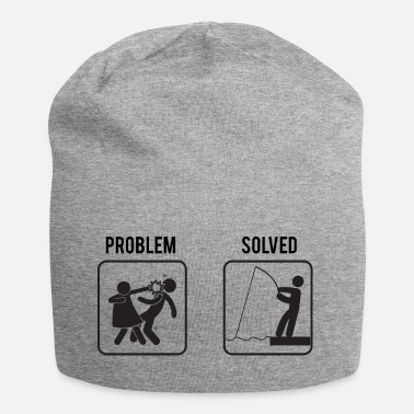 Angler Angeln / Angler / Angelsport: Problem - Solved - Beanie