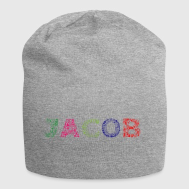 Jacob Letter Name - Bonnet en jersey