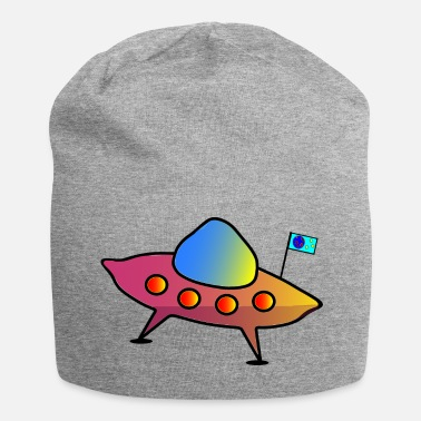 Scifi UFO, flying saucer, spaceship, scifi - Beanie