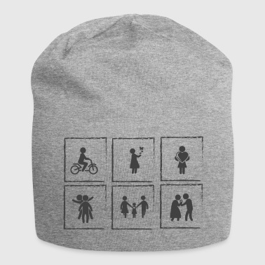 stages of life - Jersey Beanie
