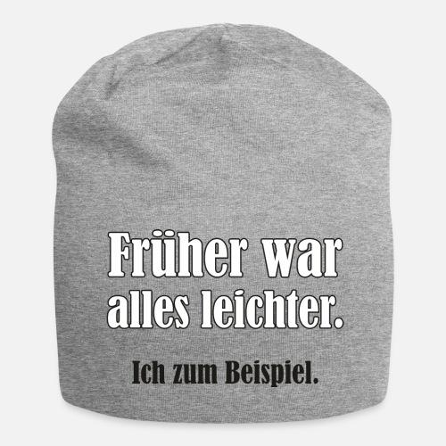Selbstironie Sprüche Spruch Humor Geschenkidee Beanie Spreadshirt