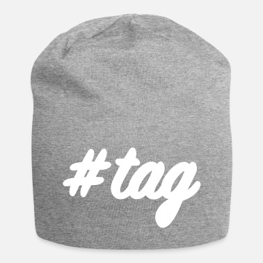 Tage #tag - Jersey-Beanie