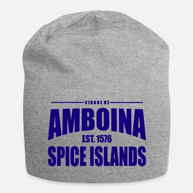 Established Cidade de Amboina - Blue - Jersey-Beanie