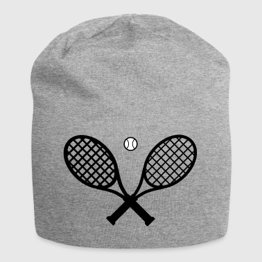 Tennis racket and tennis ball - Jersey Beanie