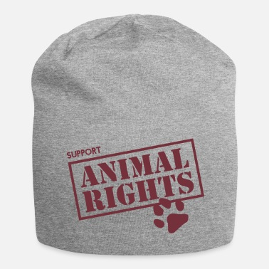 Animal Rights Support Animal Rights - Jersey Beanie