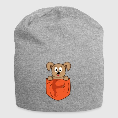 Dog lomme lomme - Jersey-beanie