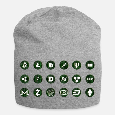 Currency Crypto Currencies - Jersey Beanie