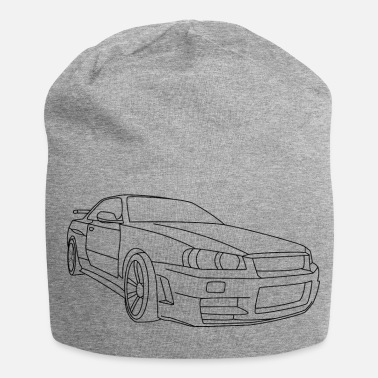 Nissan Skyline GTR R34 Illustration - Jersey-Beanie