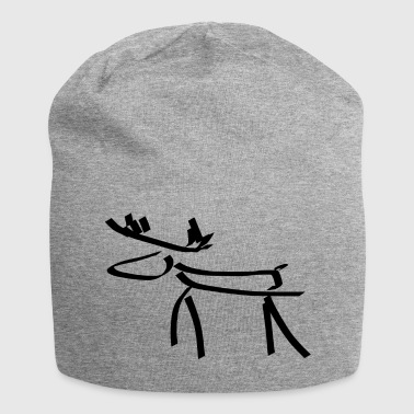 Moose two - Jersey Beanie