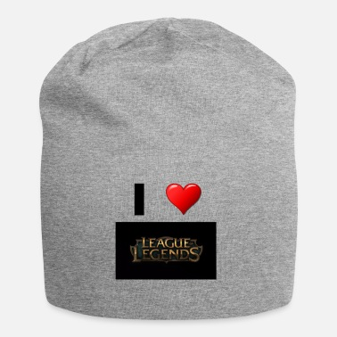 League Of Legends League of Legend Gaming liefdesgeschenkidee - Jersey-Beanie