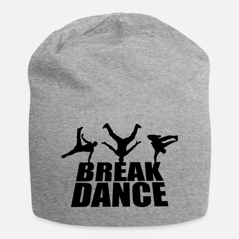 Breakdance Casquettes et bonnets - Breakdance - Beanie gris chiné