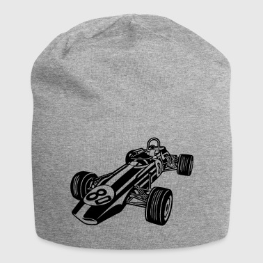 Race Car / Race Car 02_black - Jersey Beanie