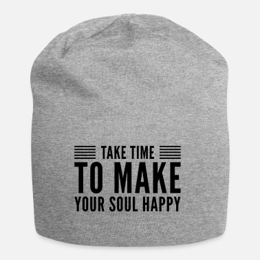 Happiness happiness - Jersey-Beanie