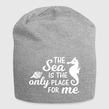 Love the sea. Nautical. Cool Seaside,Seahorse Gift - Jersey Beanie