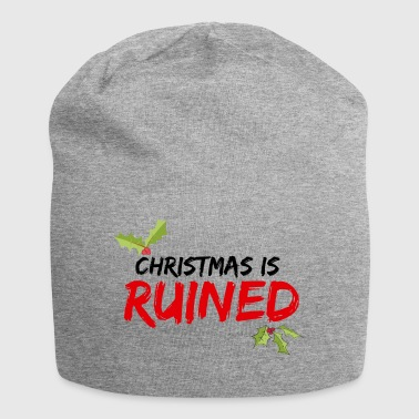 Christmas is RUINED - Jersey Beanie