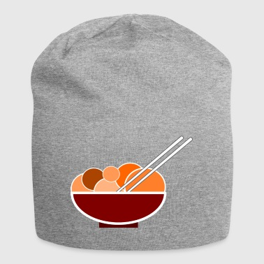 Chinese dinner dinner with chopsticks - Jersey Beanie