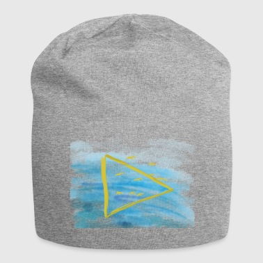 Birds fly over water - Jersey Beanie