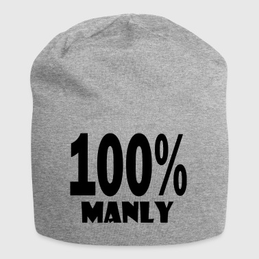 100 manly - Jersey Beanie