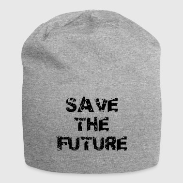 Save the Future, cool saying - Jersey Beanie