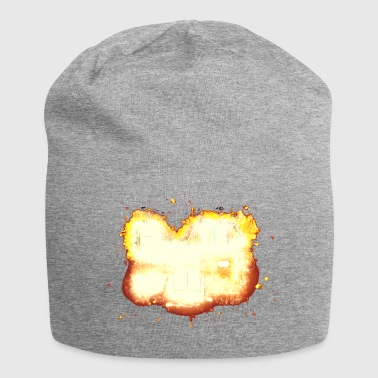 Books college burning - Jersey Beanie
