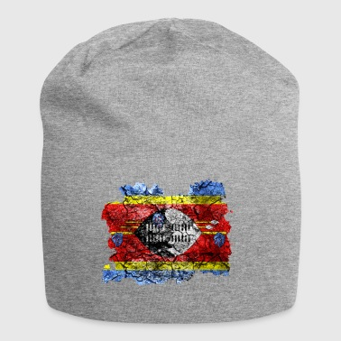 Swaziland vintage flag - Jersey Beanie