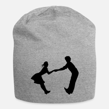Dance-music Dancing dance couple music dance music - Jersey Beanie