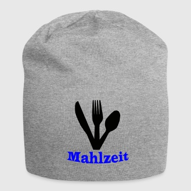 Knife, fork and spoon - meal - Jersey Beanie