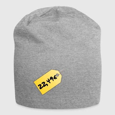 price tag - Jersey Beanie