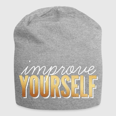 Review / Improve Yourself - Jersey Beanie