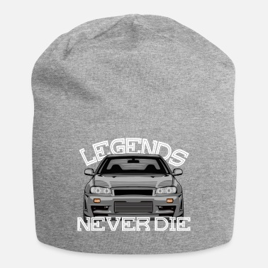 Nissan Legends Never Die Skyline R34 - Jersey-Beanie