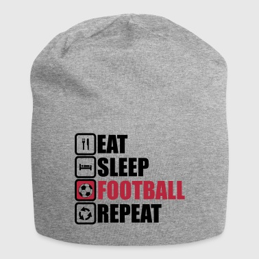eat sleep football - Jersey-beanie