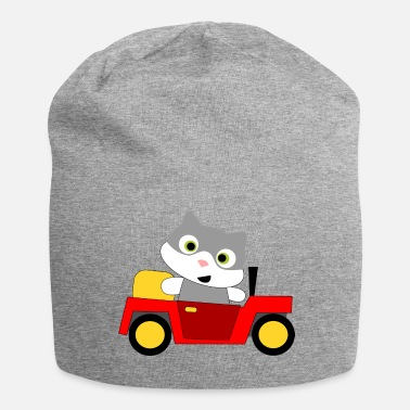 Jeep Cat Car Smile Jeep - Beanie