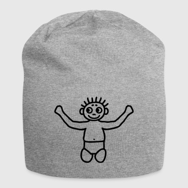 Diaper Toddler with diaper - Jersey Beanie