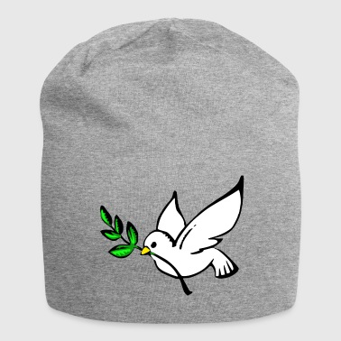 dove of peace - Jersey Beanie